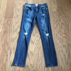 Hudson Cpsia Distressed Girls Jeans